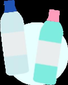 ノロウィルス対策用ボトル